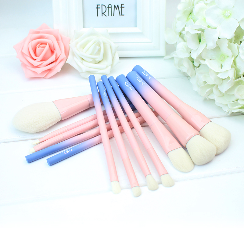 CHMAKE Gradation 12pcs makeup brushes set professional make up brush high quality foundation powder for fiber wool