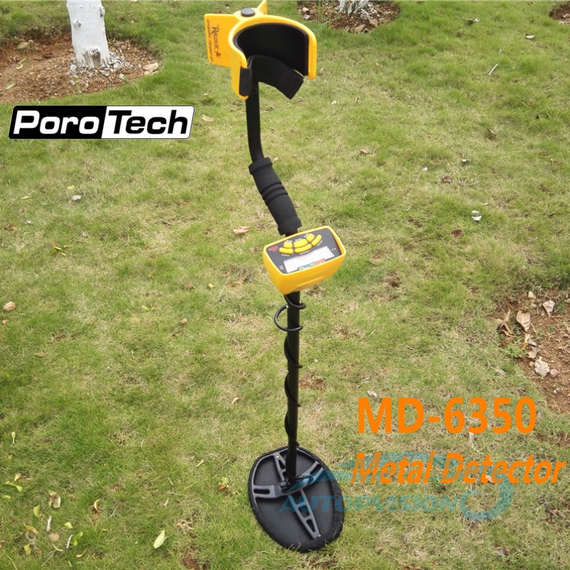 MD-6350 Underground Metal Detector Gold Digger Treasure Hunter MD6350 Professional Ground Metal Detector Pinpointer LCD Display