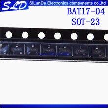 送料無料 50 ピース/ロット BAT17 04 BAT17 54 S SOT 23 新および株式で、元
