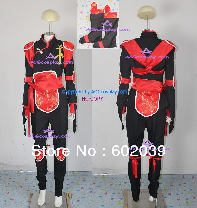 Us 89 99 Inuyasha Sango Cosplay Costume Include Boots Cover Good Quality Acgcosplay In Anime Costumes From Novelty Special Use On Aliexpress