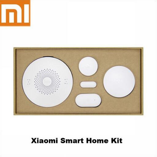 Brand 2016 Newest Original Xiaomi Smart Home Kit Gateway Door Window Sensor Human Body Sensor Wireless Switch Smart Devices Sets