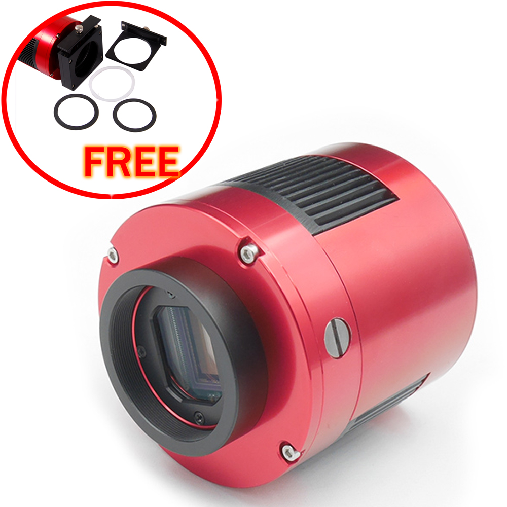 ZWO ASI 1600MM-COOL  (MONO) astronomy camera with free a set of 2  filter drawer an atlas of astronomy