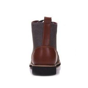 Image 3 - Yتوين ربيع الخريف أحذية الدانتيل غير رسمية الجوارب الرجال حذاء من الجلد Oxfords موضة الأحذية الجلدية الرجال الأحذية حجم كبير 39 48