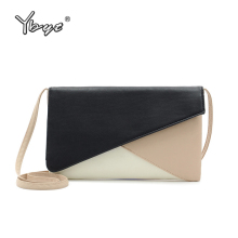 YBYT new Patchwork crossbody bags for women 2019 vintage ladies envelope bag handbags purse ladies famous designer shoulder bags