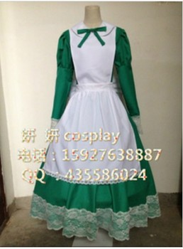 Hetalia Axis Powers Hungary Cosplay customized version Costume03 lolita dress