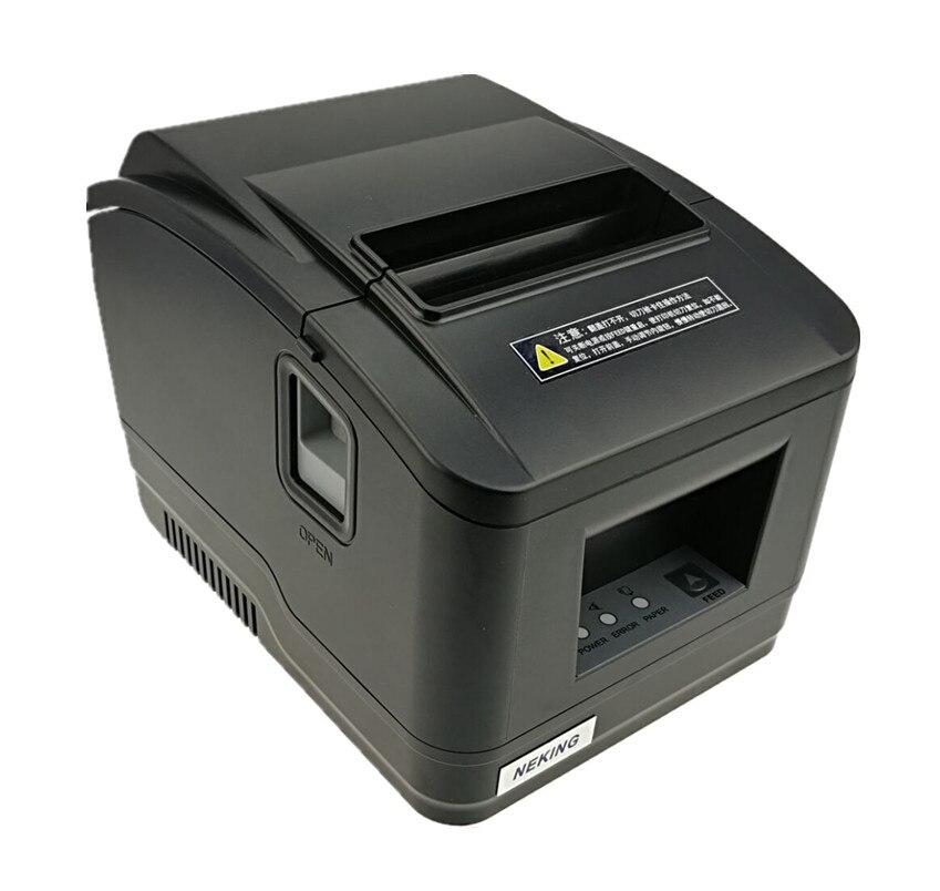 2016 nouveau gros marque nouvelle Haute qualité pos imprimante 80mm ticket thermique Petit billet imprimante code à barres automatique de coupe