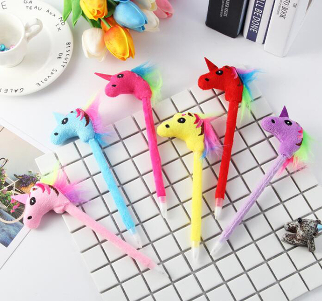 Unicorn Doll Pen Supply Gift Stationery for Children