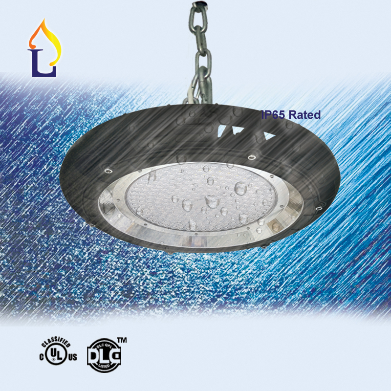 5 Pack 100W 150W 200W UL DLC LED UFO High Bay Light SMD3030 LED Industrial Lamp IP65 100 277V 5 years warranty mining lamp