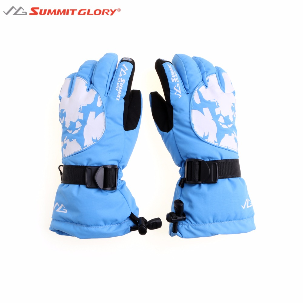 Women Skiing Gloves Winter Warm Thick Snowboard Gloves Summit Glory S-M-L