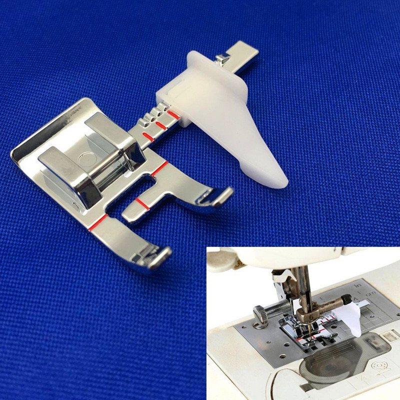 High Quality Adjustable Guide Sewing Machine Presser Foot Fits All Low Shank