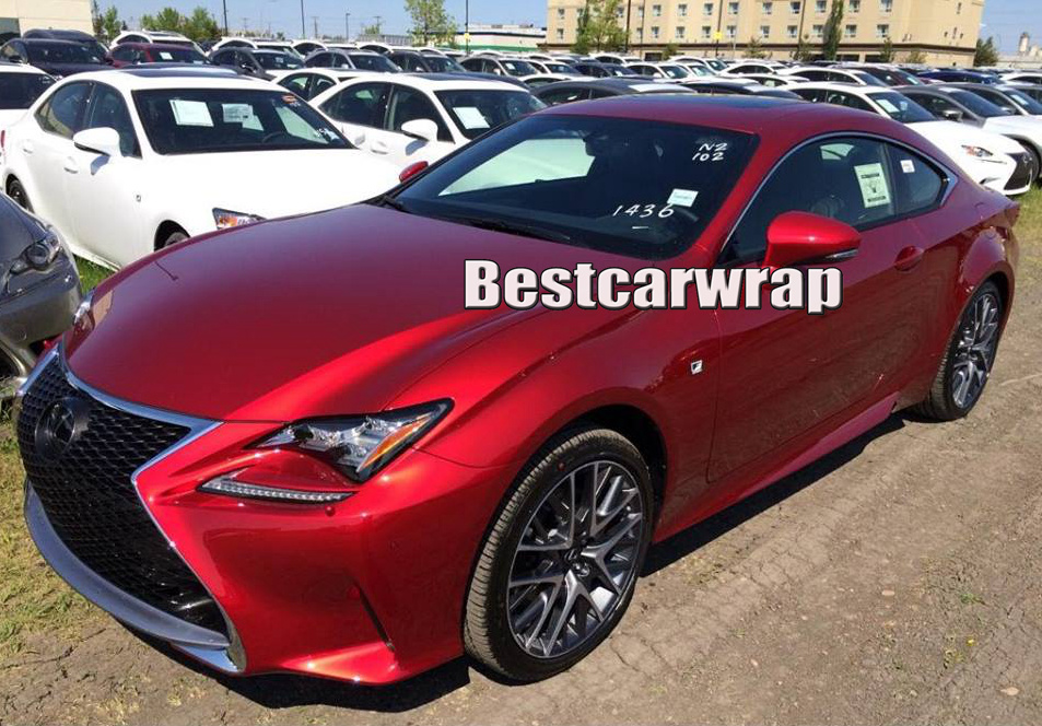 Aliexpress Com Buy Cherry Red Gloss Metallic Car