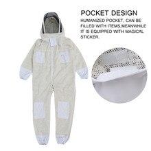 3 слоя всего тела защитный костюм пчеловода вуаль капюшон шляпа одежда куртка защита для Пчеловодство костюм пчеловоды пчелы костюм оборудование