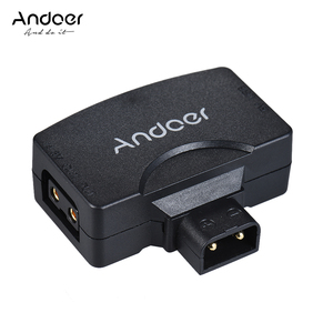 Andoer D-Tap to 5V USB Adapter Connector for V-Mount Camcorder Camera Battery for BMCC for iPhone iOS Android Smartphone Monitor