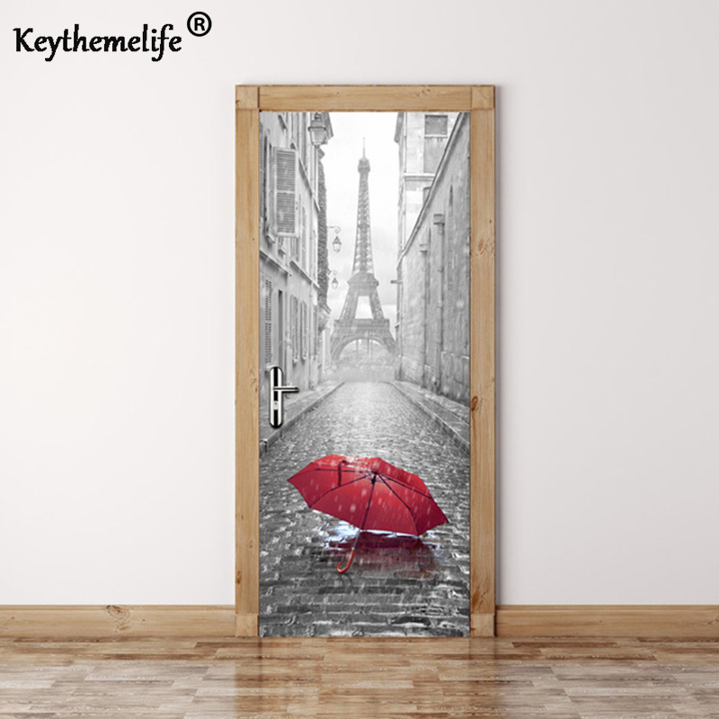Keythemelife 2 pcsset Wall Stickers DIY Mural Bedroom