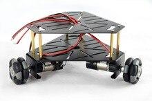 3WD 48 мм Omni колеса робота шасси автомобиля для Arduino 15001