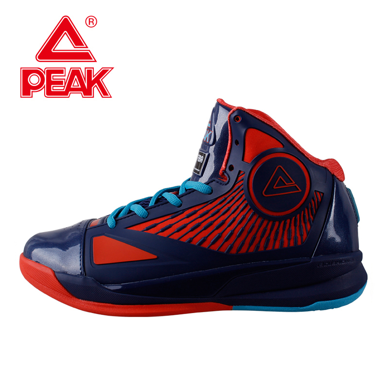 PEAK SPORT Speed Eagle I Men FIBA World Cup Basketball Shoes High-Top Sneaker FOOTHOLD Cushion-3 Tech Athletic Boots EUR 40-47 peak sport lightning ii men authent basketball shoes competitions athletic boots foothold cushion 3 tech sneakers eur 40 50