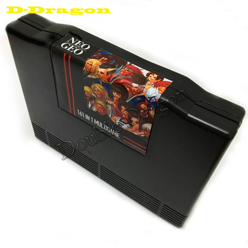 NEW ARRIVAL SNK 161 in 1 Neo Geo AES 161 in 1 JAMMA Multi Game Cartridge Pcb Game Board for Game Machine image