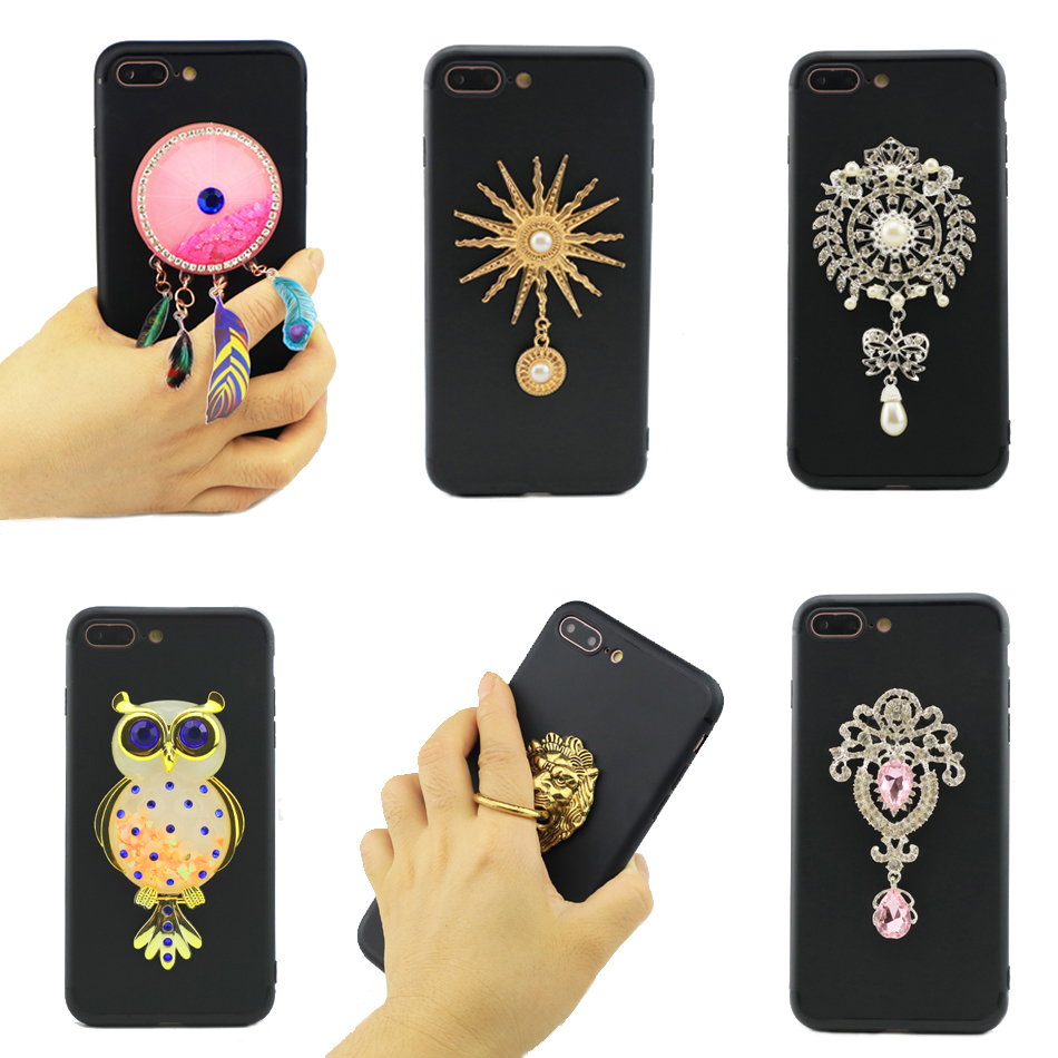 For Xiaomi Mi Max 2 6 44 quot Case Fundas Quicksand Shell Glitter Smart Phone Finger Ring Case Xaomi Mi Max 2 Protective Cover Coque in Fitted Cases from Cellphones amp Telecommunications