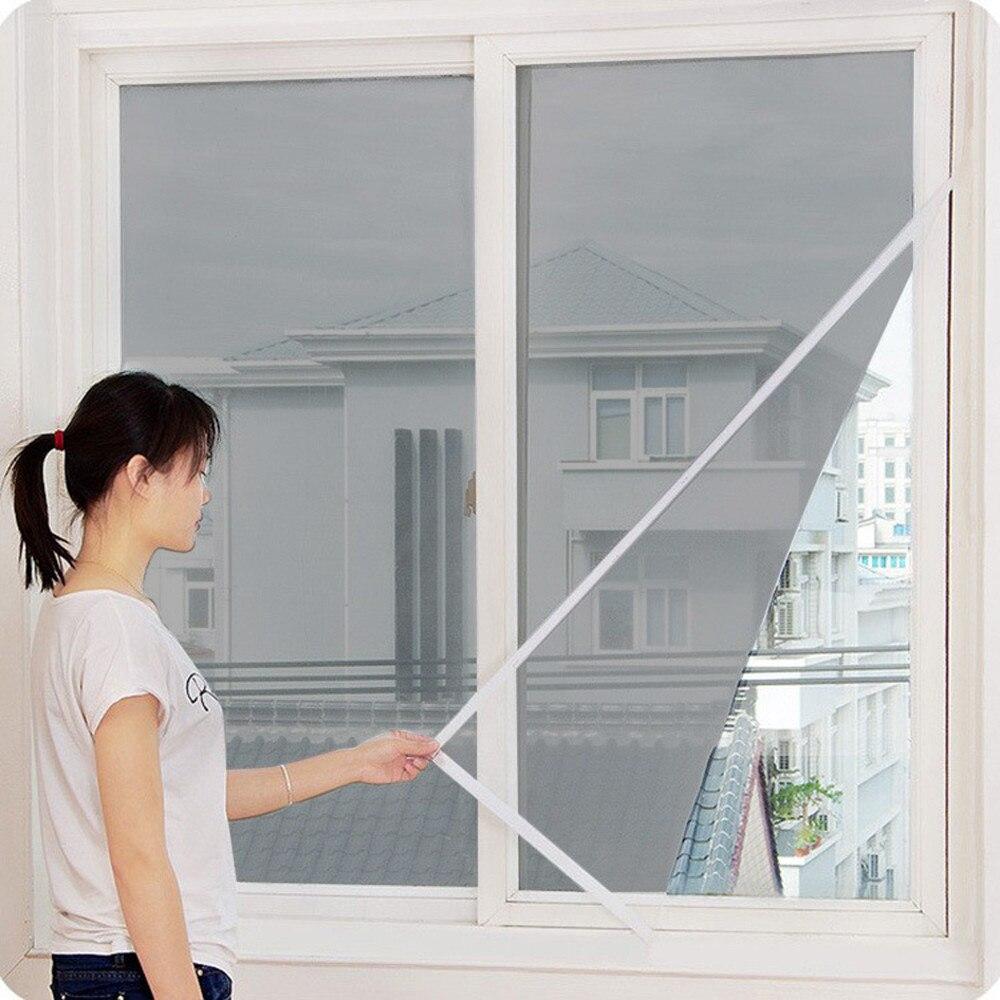 2020 New Indoor Insect Fly Screen Curtain Mesh Bug Mosquito Netting Door Window 6