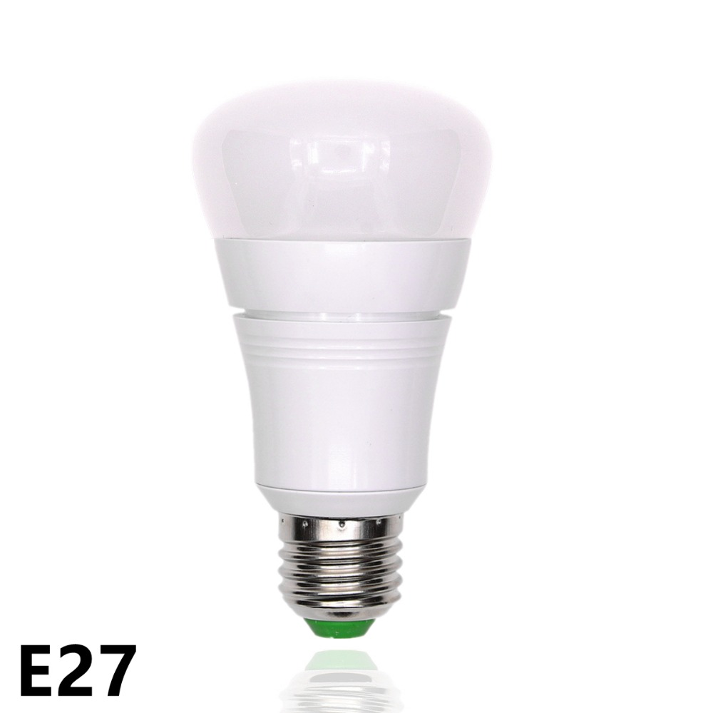 WiFi Smart LED Bulbs E27 LED lamp 110V 220V Dimmable RGBW LED Lights for Amazon Alexa Google Home By IOS/Android APP Control