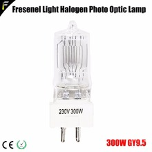 6874P 300 W/230 V GY9.5 M38 Галогенные лампочки для сцены, лампа, светильник для телевидения, галогенная кварцевая лампа 3200 K, видео светильник, лампа