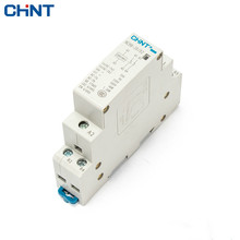 CHINT 220V Guide Type NCH8-20/02 Two Often Close 20A Security 2P Household Small-sized Single-phase Communication Contactor  цены