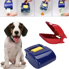 1pc Portable Pet Dog Cat Puppy Pooper Scooper Waste Tool Handle Clean Poop Pick up  -Y102