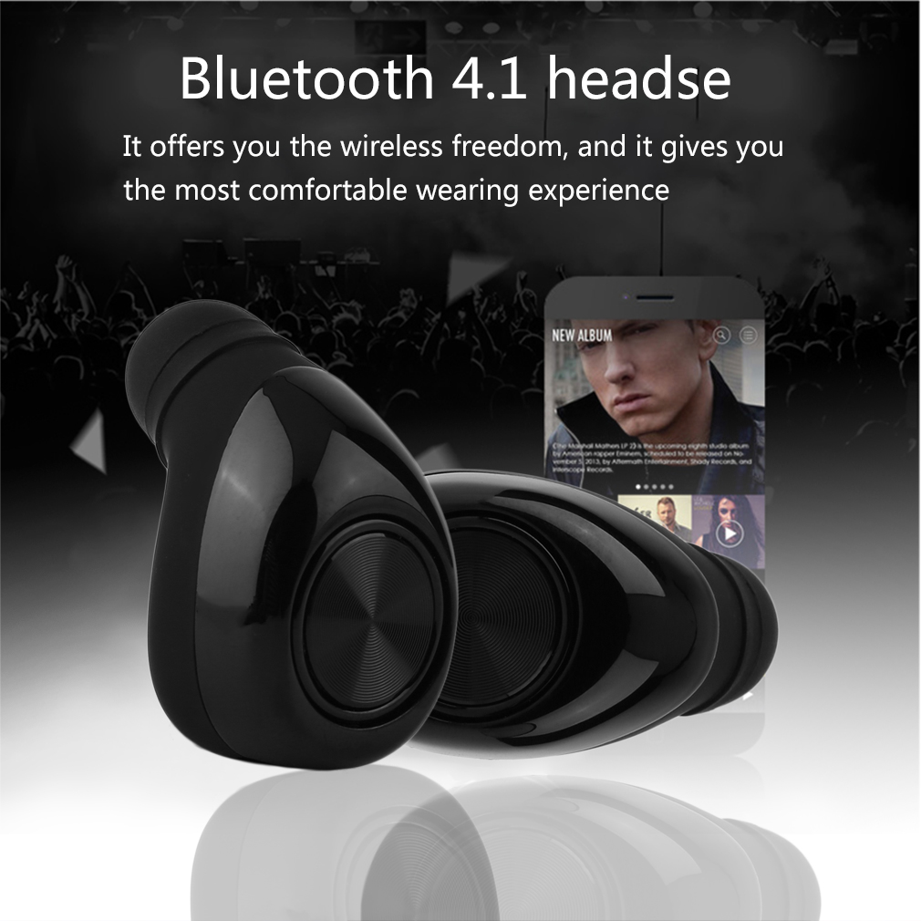 Mini True Twins Wireless Bluetooth Headset In-Ear Earphone Earbuds Headphone with Lightweight and Compact Portable Design portable smart mini wireless bluetooth twins stereo mini double in ear headset earphone earbuds