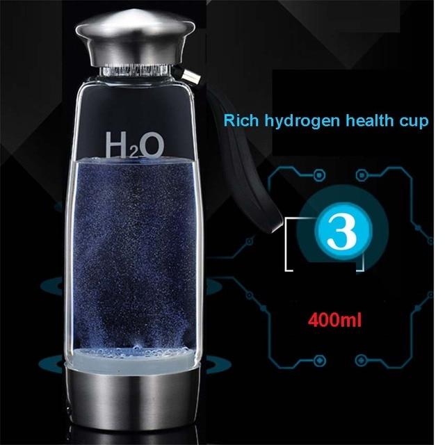 FQB-3012 Die Dritte Generation von Wasserstoff Wasser Und Kaffee Generatoren Ionisatoren mit 650 mAh interne lithium-batterie 400mL