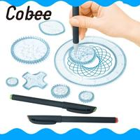 Spiral Art Tool Spirograph Great Funny Kids Student Gift Creative Toy Drawing Ruler Development Hobbies