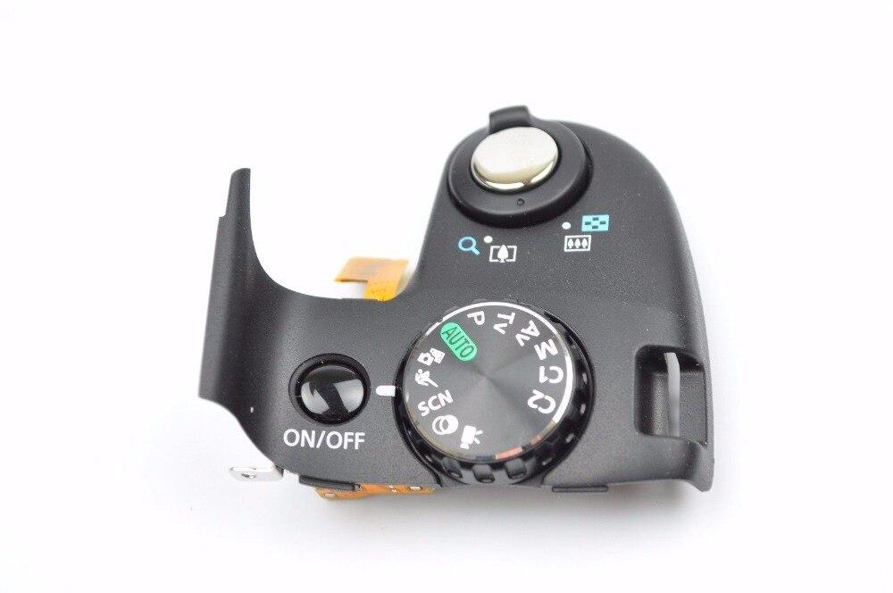 Livraison gratuite! 90% nouvelle pièce de réparation pour Canon SX50 HS PC1817 couvercle supérieur Zoom bouton de déblocage Mode cadran
