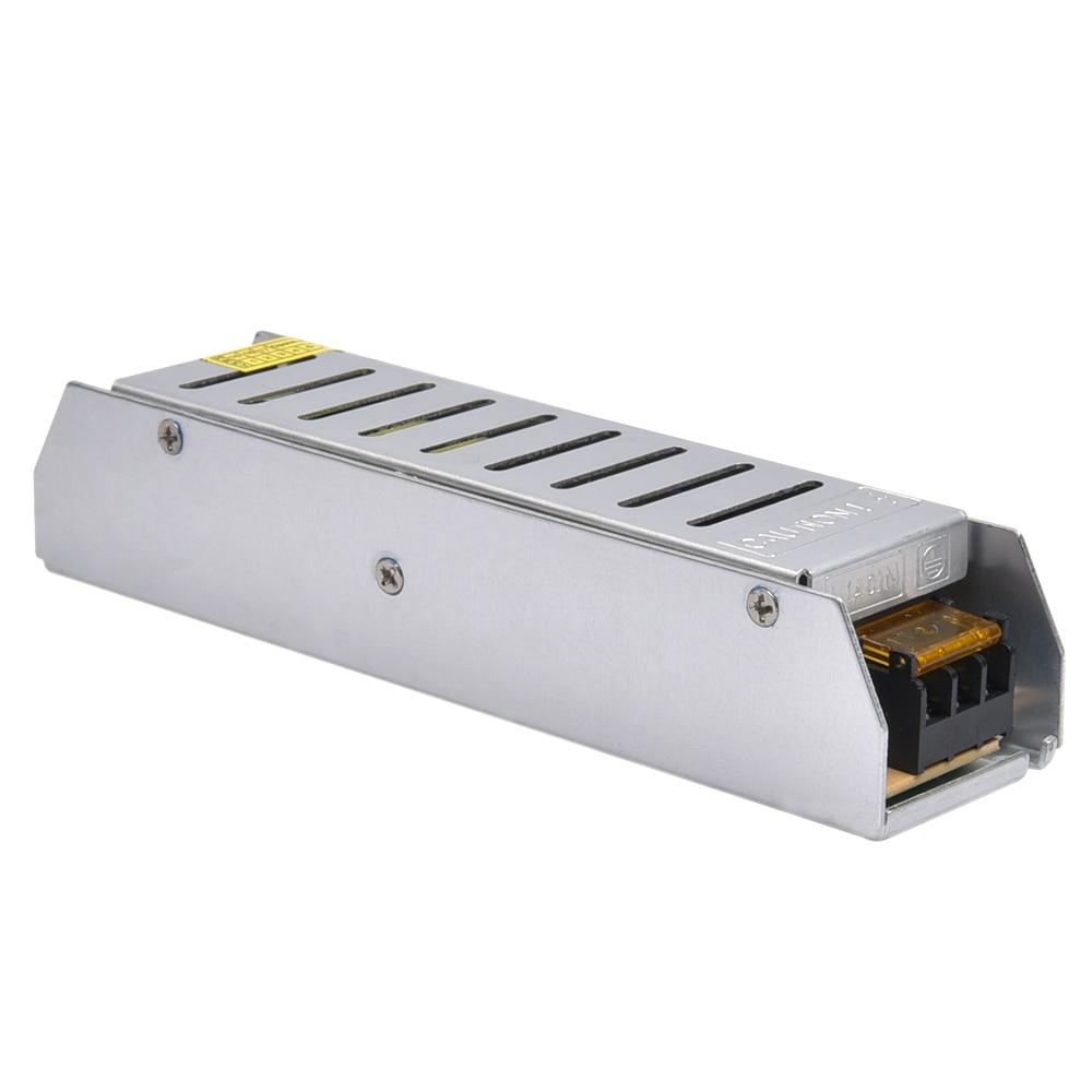 LED Power Supply 5A 60W  100W 120W 150W 200W LED Driver Power Adapter Switching 110V 220V to 12V 24V Transformer for LED Strip