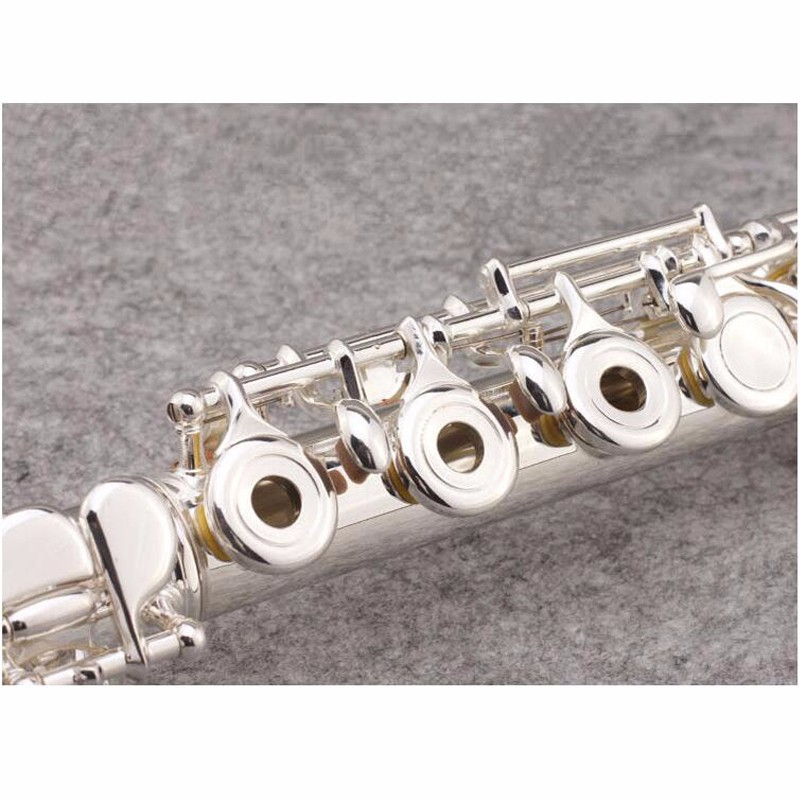 Professional-YFL-471-Close-16C-Keyhole-Flute-Silver-Plated-Musical-Instruments-Flute-With-Case-and-Accessories (2)