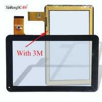 Sunstech-panel de pantalla táctil de 9 pulgadas TAB97QC, cristal digitalizador con Sensor de repuesto, envío gratis