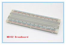 5PCS Solderless MB 102 MB102 Breadboard 830 Tie Point PCB BreadBoard for Arduio font b Raspberry