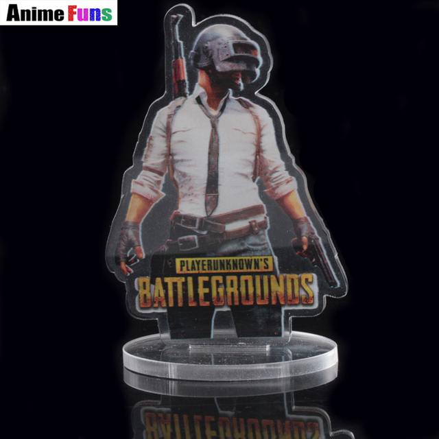 US $4 11 21% OFF|Playerunknown's Battlegrounds Acrylic Model PUBG Chicken  Dinner Charm Gift for women man fan Transparent Decoration Toy Souvenir-in