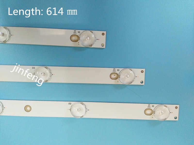 9 セット = 27 個 LBM320P0701-FC-2 LED バックライト strips32PFK4309-TPV-TPT315B5 32PFK4309 32PHS5301 TPT315B5 LB-F3528-GJX320307-H 32E200E