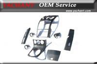 Car Styling Auto Accessories Carbon Fiber Interior Trim 8Pcs Fit For 2002 2008 Nissan 350Z Z33 LHD MT Interior Trim Kit