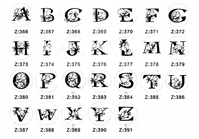 Letter stamp 1-8