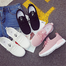 2019 new spring and autumn wild casual women breathable lightweight student running shoes