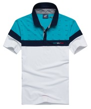 Brand clothing Tace&shark Polo shirt Men's lapel Pure cotton breathable The embroidery polo shirt men Rich billionaire
