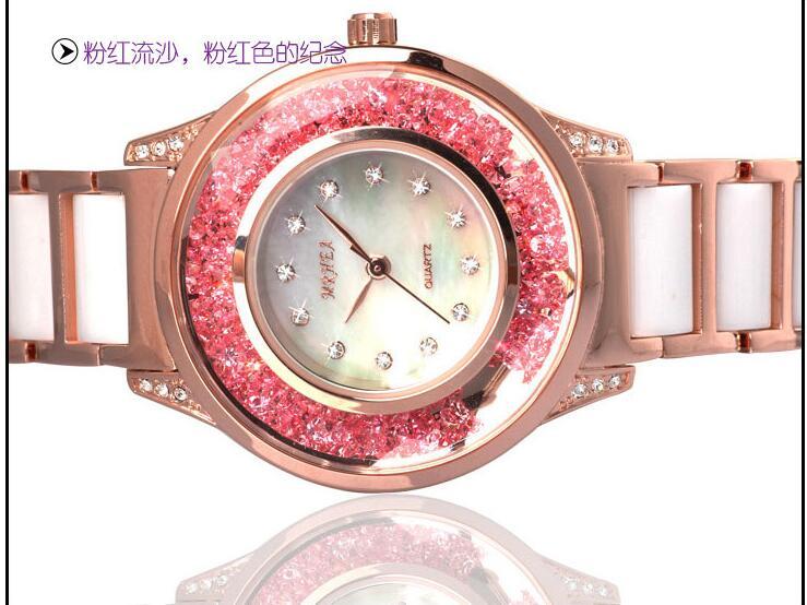 Genuino melissa orologio femminile di diamante della moda femminile orologio bianco di cristallo di ceramica della vigilanza di tendenza orologio da tavolo diamanteGenuino melissa orologio femminile di diamante della moda femminile orologio bianco di cristallo di ceramica della vigilanza di tendenza orologio da tavolo diamante