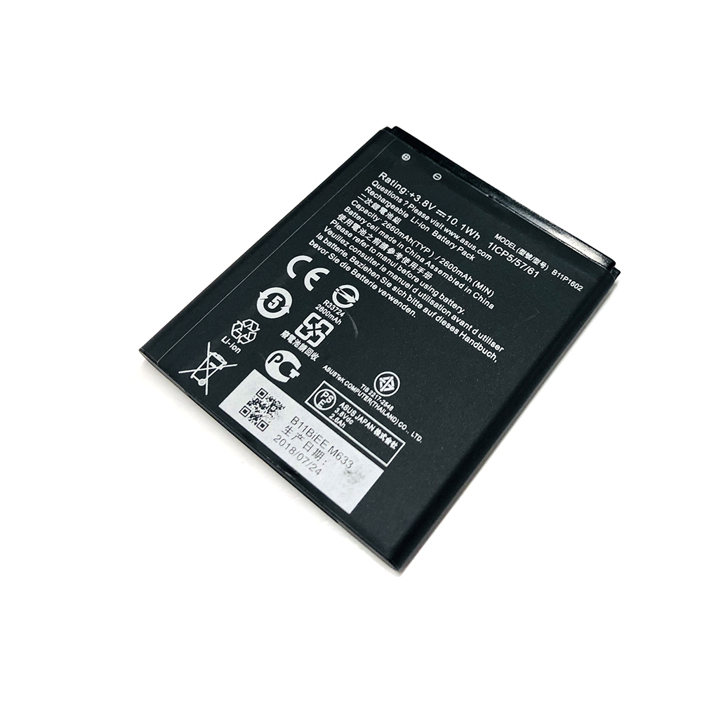 Alta Qualidade 2600mAh bateria para ASUS Zenfone B11P1602 Ir 5