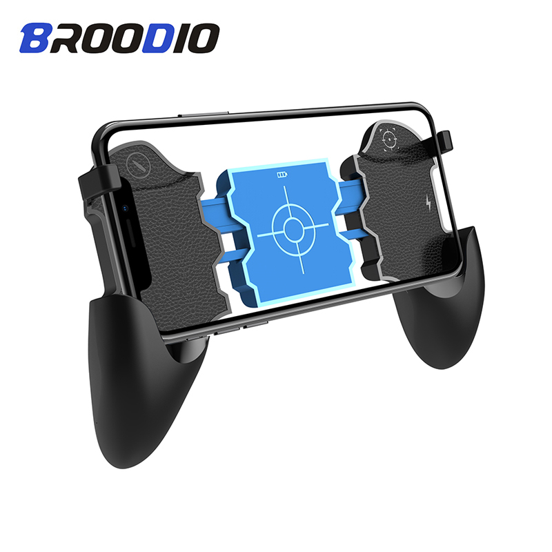 Bluetooth Game Pubg Trigger Controller Gamepad Phone Mobile Triggers Joystick For iphone Wireless Smartphone shooting Gaming-in Gamepads from Consumer Electronics