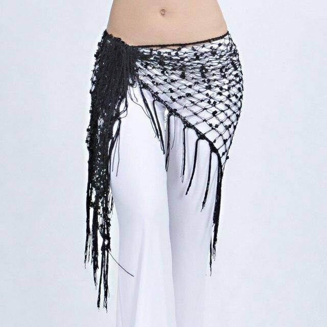 cb5ae2b37 Trajes de Dança do ventre Lenço Xale Lantejoulas Dança Do Ventre Lenço de  Quadril para Mulheres