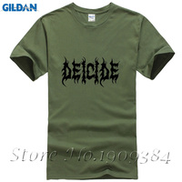 Heavy Metal Rock Band Music Deicide T Shirt Pattern Men Short Sleeve Summer Tops For Man