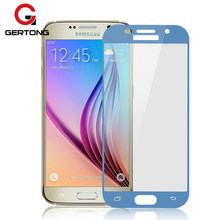 GerTong Full Cover Tempered Glass for Samsung Galaxy J7 2017 J730 J3 J5 Eurasian Version A7 A5 A3 A520 Screen Protector Film(China)