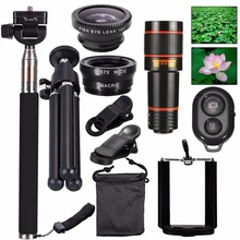 JKING 1 Set All in 1 Accessories Phone Camera Lens Top Trave