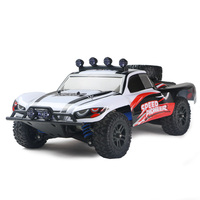 50km/h Model Cars RC 1/18 Scale Off Road 2.4 Ghz Radio Remote control 4WD High Speed 30MPH, Gift for Boy