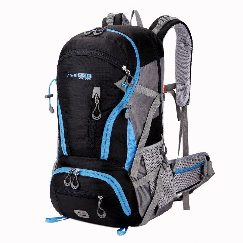 Бесплатная рыцарь большой Ёмкость модные Для мужчин рюкзак Водонепроницаемый рюкзак многофункциональный сумки мужской ноутбук рюкзаки ...